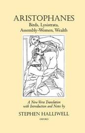 Birds, Lysistrata, Assembly-Women, Wealth by Aristophanes image