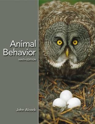 Animal Behavior: an Evolutionary Approach by John Alcock