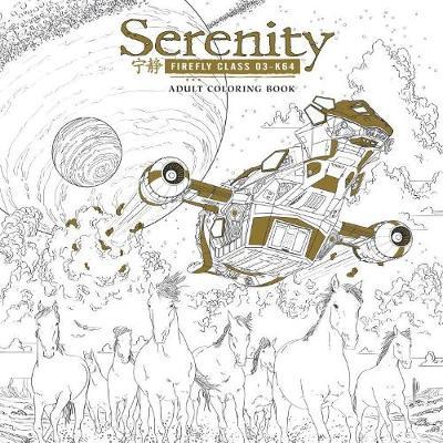 Serenity Adult Coloring Book By FOX Image