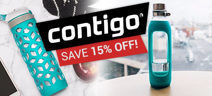 15% off Contigo Hydration!