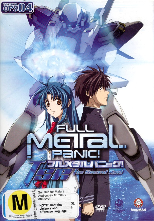 Full Metal Panic! - The Second Raid: Tactical Ops 04 on DVD image