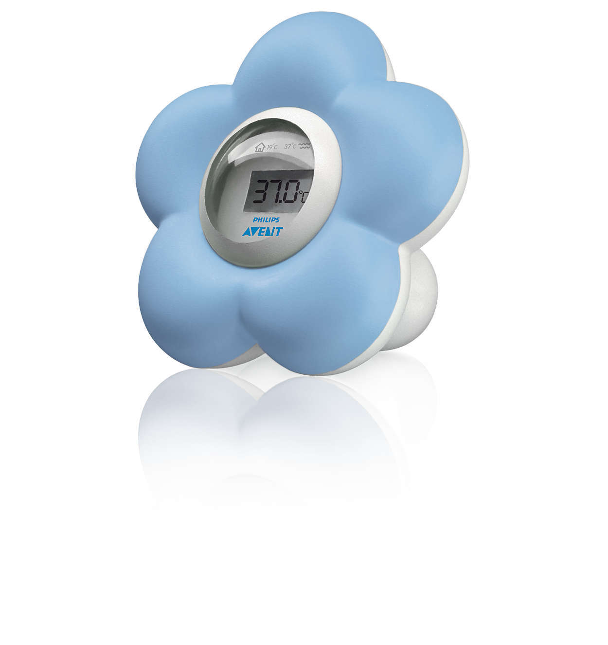 Philips Avent Bath & Bedroom Thermometer - Blue image