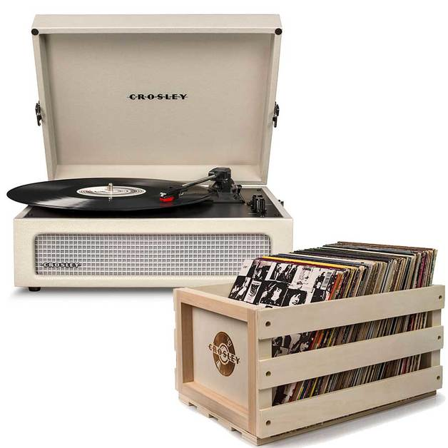 Crosley: Voyager Portable Turntable - Dune