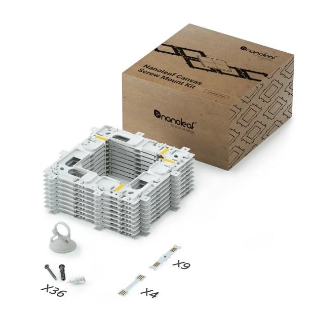 Nanoleaf: Canvas Mounting Kit - 9 pack (Soft Packaging)