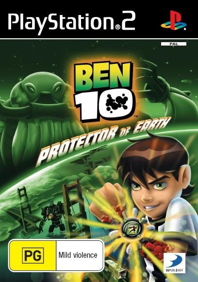 Ben 10 Protector of the Earth for PlayStation 2