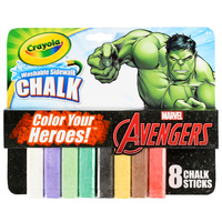 Crayola: Avengers Washable Sidewalk Chalk - Hulk