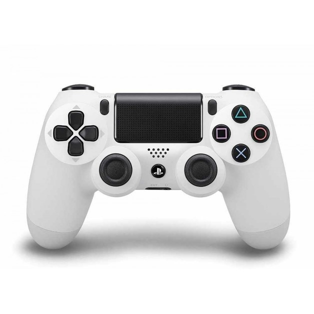 PlayStation 4 Dual Shock 4 Wireless Controller - White for PS4