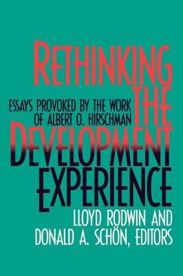 Rethinking the Development Experience by Donald A. Schon