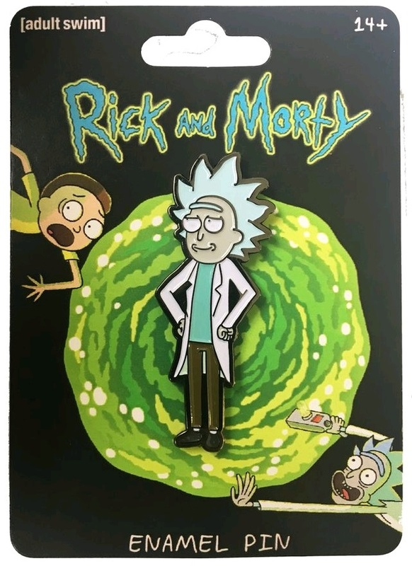 Rick & Morty - Tiny Rick Enamel Pin