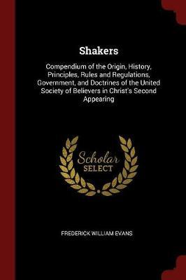 Shakers by Frederick William Evans image
