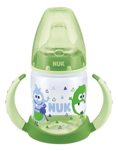 NUK: First Choice - Training Bottle 6-18 Months (150ml) - Green Monster