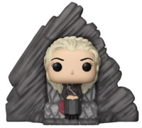 Game of Thrones - Daenerys (on Dragonstone Throne) Pop! Vinyl Set