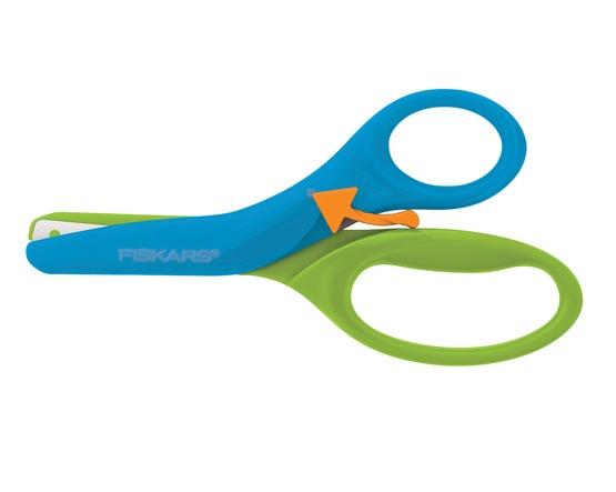 Fiskars: Pre-School Training Scissors - Blue/Green image