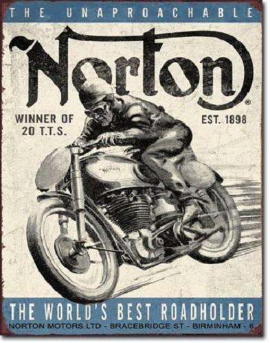 Norton - Winner Retro Tin Sign