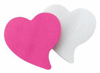 Post-it Die Cut Heart Shape - 75shts/pad (Pkt 2)
