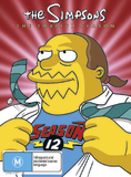 The Simpsons - The Twelfth Season DVD