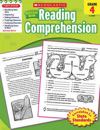 Scholastic Success with Reading Comprehension, Grade 4 by Kathy Zaun image