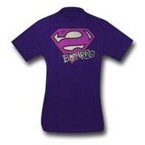 Superman Bizarro Shield and Scrawl T-Shirt (Small)