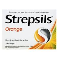 Strepsils Lozenges - Orange (16's)