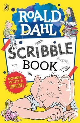 Roald Dahl Scribble Book by Roald Dahl image