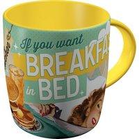 Say it 50's Mug - Breakfast in Bed