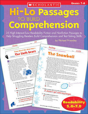 Hi/Lo Passages to Build Reading Comprehension | Michael Priestly
