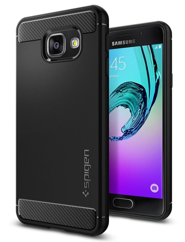 Spigen: Galaxy A3 - Rugged Armour Case (Black)
