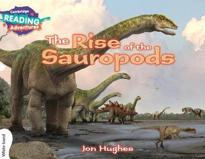 The Rise of the Sauropods White Band by Jon Hughes image