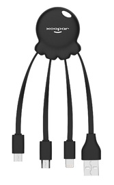Xoopar: Octopus 2 - Charging Cable (Black)
