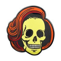 Creepy Co: Skully Enamel Pin