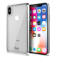 iLuv: Metal Care Case - For iPhone X/XS (Silver)