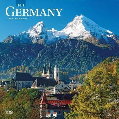 Germany 2019 Square Wall Calendar by Inc Browntrout Publishers image