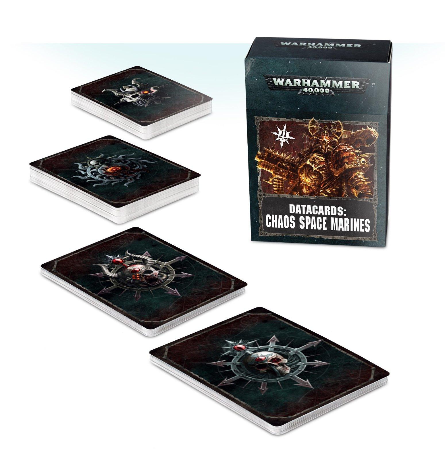 Warhammer 40,000 Datacards: Chaos Space Marines image