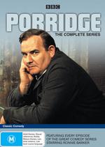 Porridge - The Complete Series on DVD