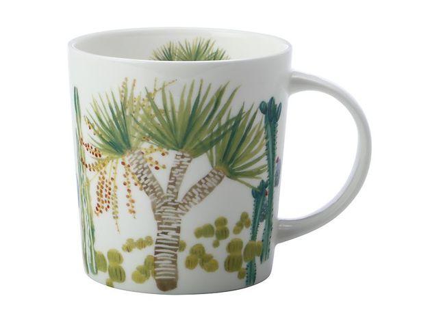 Maxwell & Williams: Royal Botanic Garden Arid Garden Mug - Dracaena (300ml)