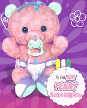 Doodle Bear Baby - Penny