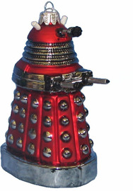 """Doctor Who - Dalek Drone 5"""" Christmas Ornament"""