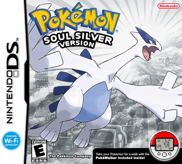 Pokemon SoulSilver Version (+ Pokewalker accessory) for Nintendo DS