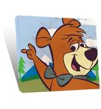 Yogi Bear Boo Boo Small Canvas Print