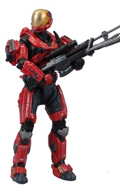 Halo Spartan Eva Team Red Exclusive Figure for