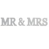 Mr & Mrs Letters - Cream
