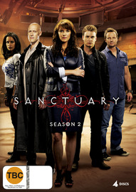 Sanctuary - Season 2 (4 Disc Set) on DVD