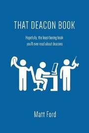 That Deacon Book by Matt Ford