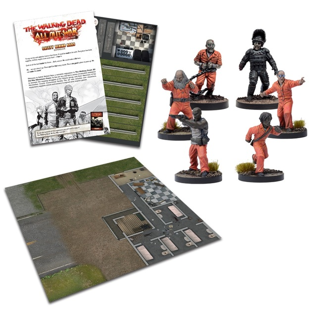 The Walking Dead: Safety Behind Bars Expansion