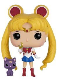 Sailor Moon - Sailor Moon w/ Moon Stick & Luna Pop! Vinyl Figure