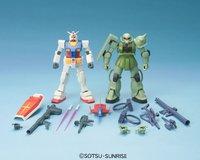 HGUC Gunpla Starter Set: Gundam Vs. Zaku II - Model Kit image