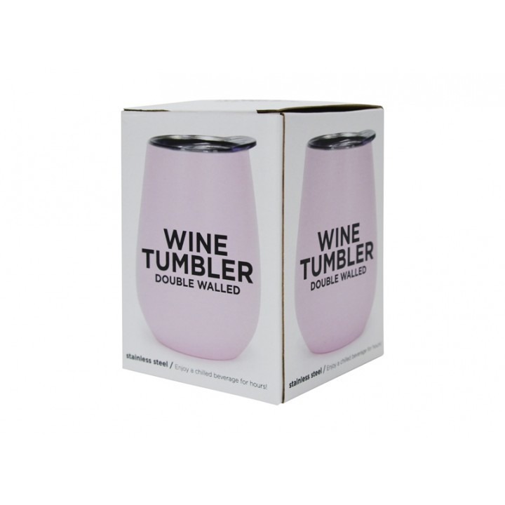9d72df19a3b Annabel Trends Wine Tumbler - Pink | at Mighty Ape Australia