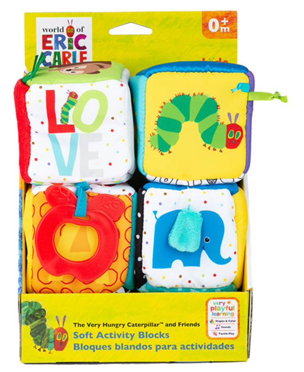 The World Of Eric Carle: Very Hungry Caterpillar - Soft Block Set