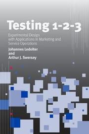 Testing 1 - 2 - 3 by Johannes Ledolter image