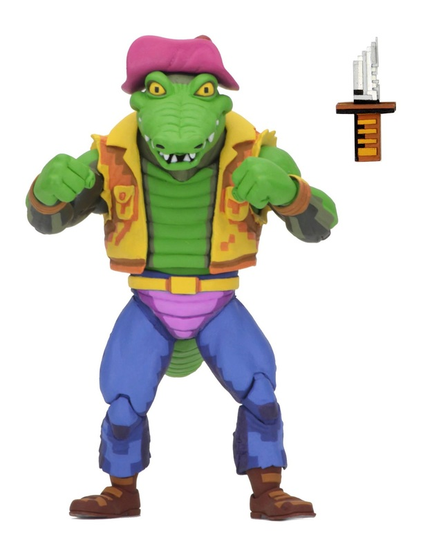 "TMNT: Turtles In Time - Leatherhead 7"" Action Figure"